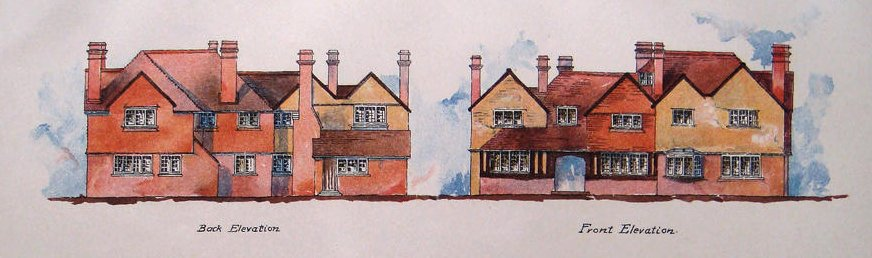 Rosemary Hill cottage at Blackheath, near Guildford, adapted by Charles Harrison Townsend (personal collection)